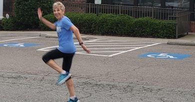 This 69-Year is on a Half Marathon Skipping Mission!