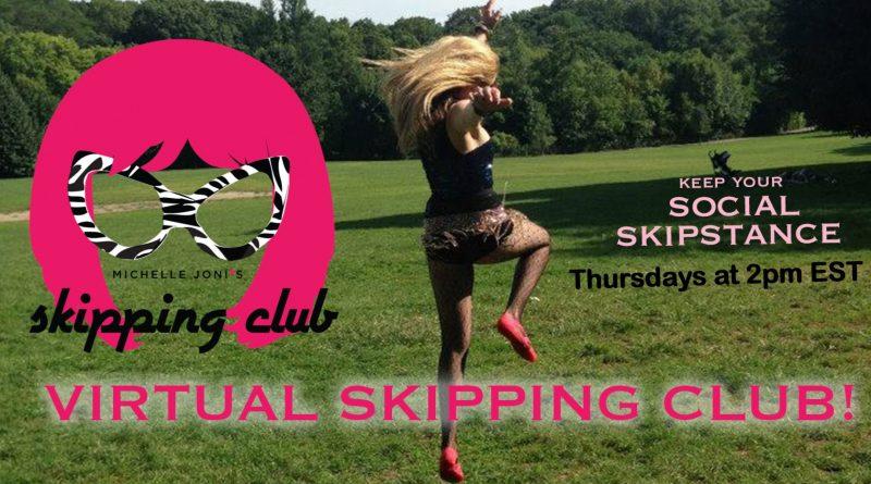 Michelle Joni's Skipping Club (via Zoom!)